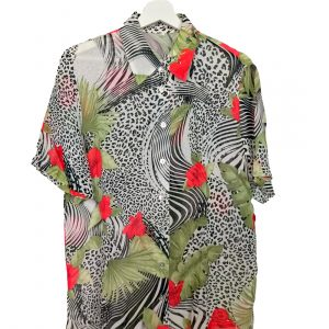 Camisa Vintage hawaiana
