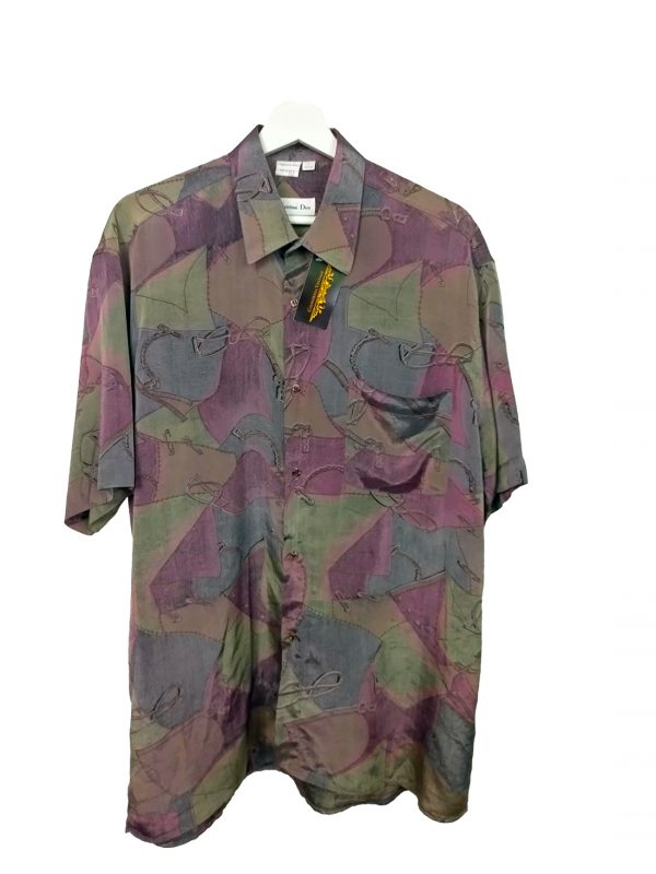 camisa vintage christian dior