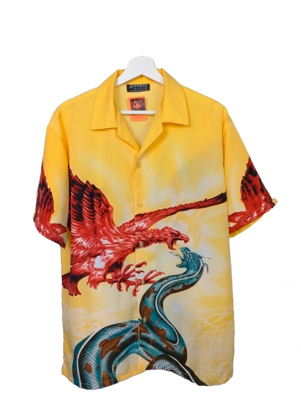 Camisa vintage hawaiana.