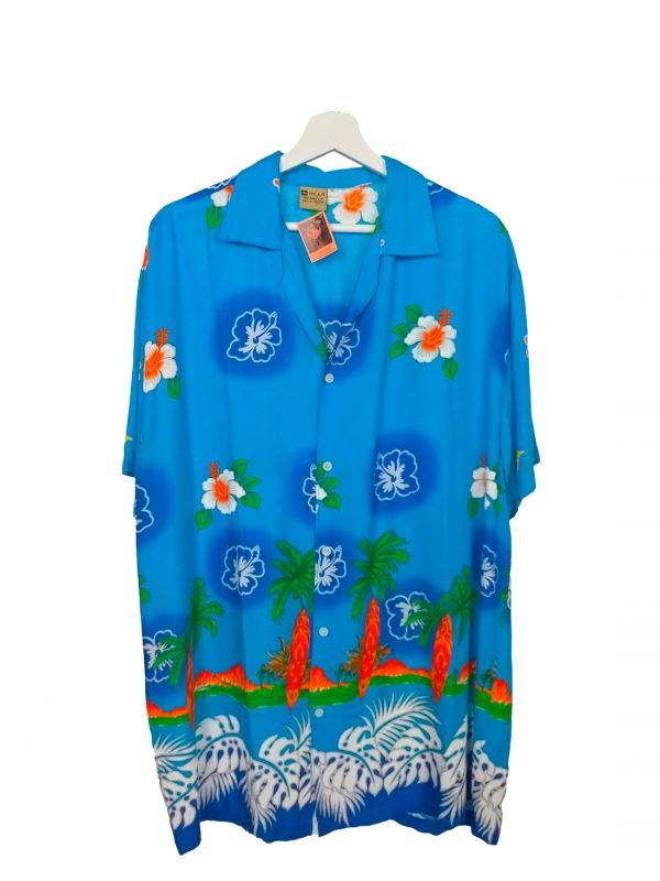 Camisa hawaiana.