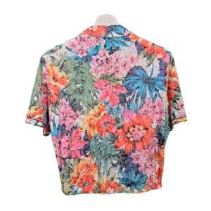 crop top camisa palmar