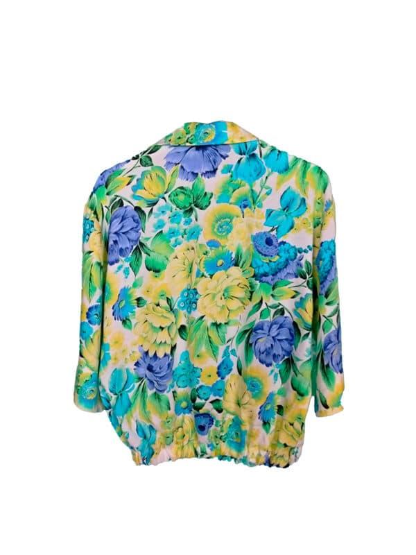 crop top camisa jardín del cielo