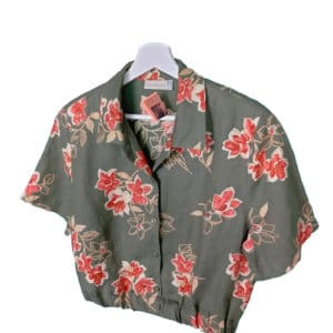 crop top camisa miliflores