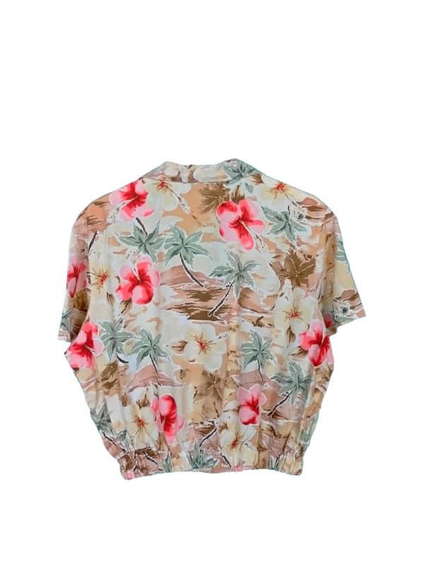 crop top camisa isla