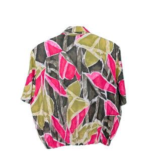 crop top camisa color