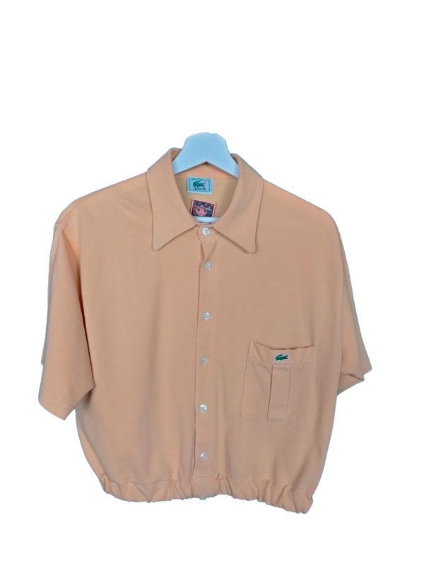 crop top polo camisa