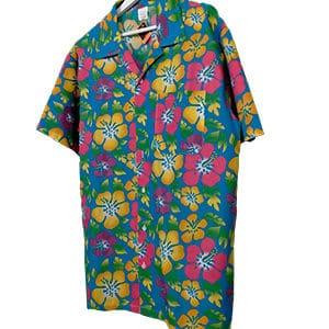 camisa hawaiana flores