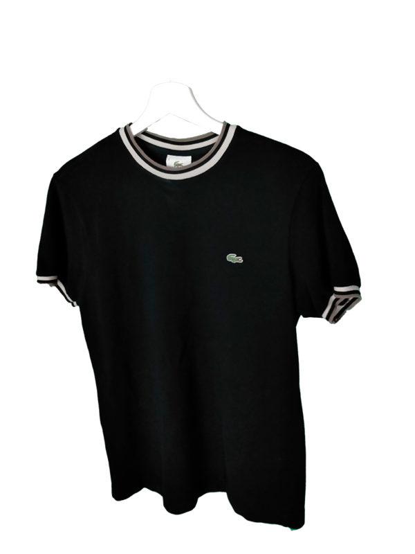 Camiseta Lacoste negra