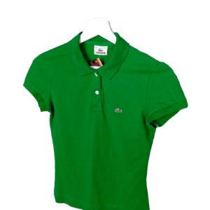 Polo lacoste color verde sra
