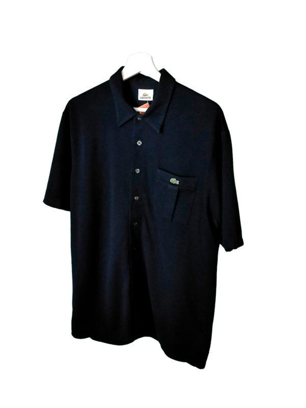 Camisa Lacoste Vintage negra