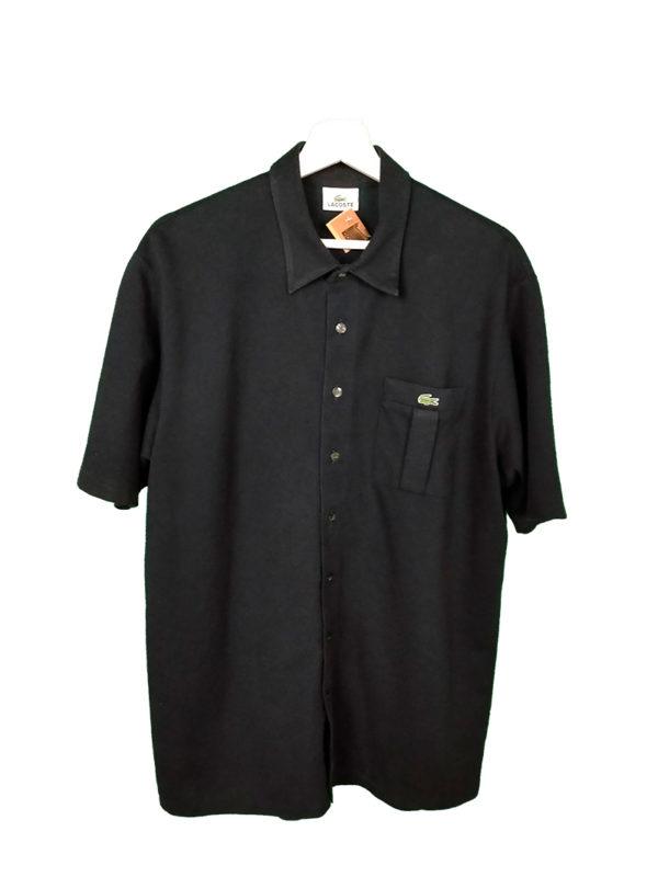 Camisa lacoste negro