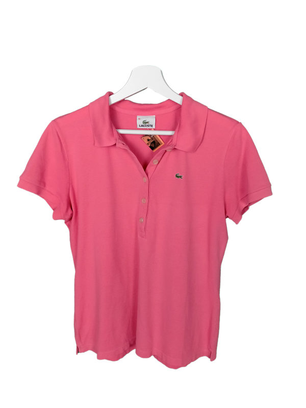 Polo lacoste color rosa